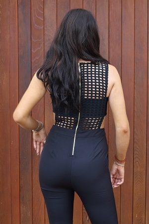 black jumpsuit 3