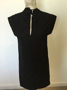 Black key hole dress