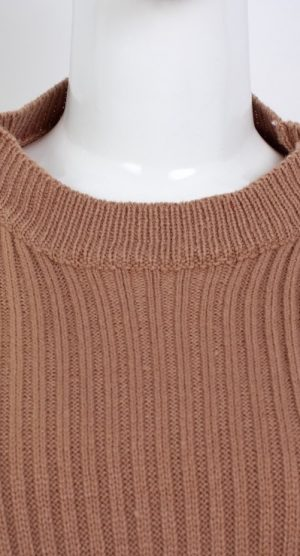 Apricot Oversized Chocker Jumper detail