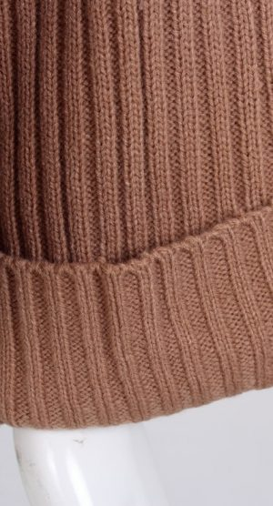 Apricot Oversized Chocker Jumper sleeve detail